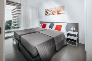 villa anna lignano sabbiadoro appartamento deluxe camera doppia vista mare-0014